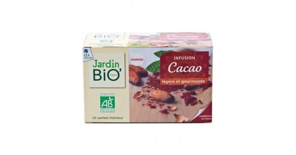 Cocoa Herbal Tea Jardin Bio Naturenvie