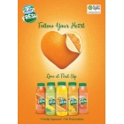 Al Ain Fresh - Ultra Fresh Fruit Juices  - Cold-pressed fresh juice. Using high pressure pasteurization.<br/>SIAL MIDDLE EAST 2016