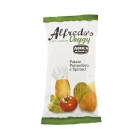 Alfredo's veggy snack - 100% natural vegetable chips. <br/>SIAL PARIS 2014