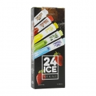 24ICE / Alcoholic Ice Cocktails - Alcoholic cocktail ice in a single tube. 5% alcohol by volume.<br/>SIAL PARIS 2016