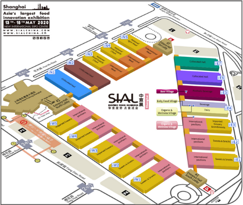SIAL China 2020 Floorplan