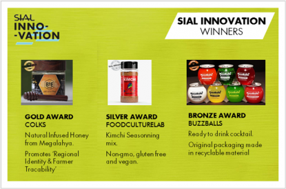 SIAL India Innovation winners