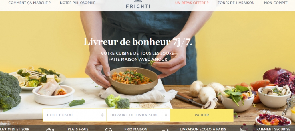 Frichti - Food delivery startup