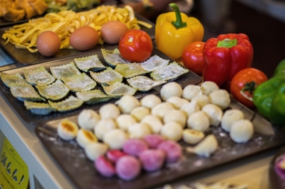 Display of Gourmet food products - SIAL Paris