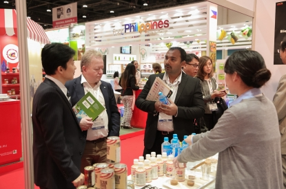 Filipino's food products at SIAL Middle East