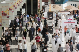 Trade show hall of SIAL Abu Dhabi