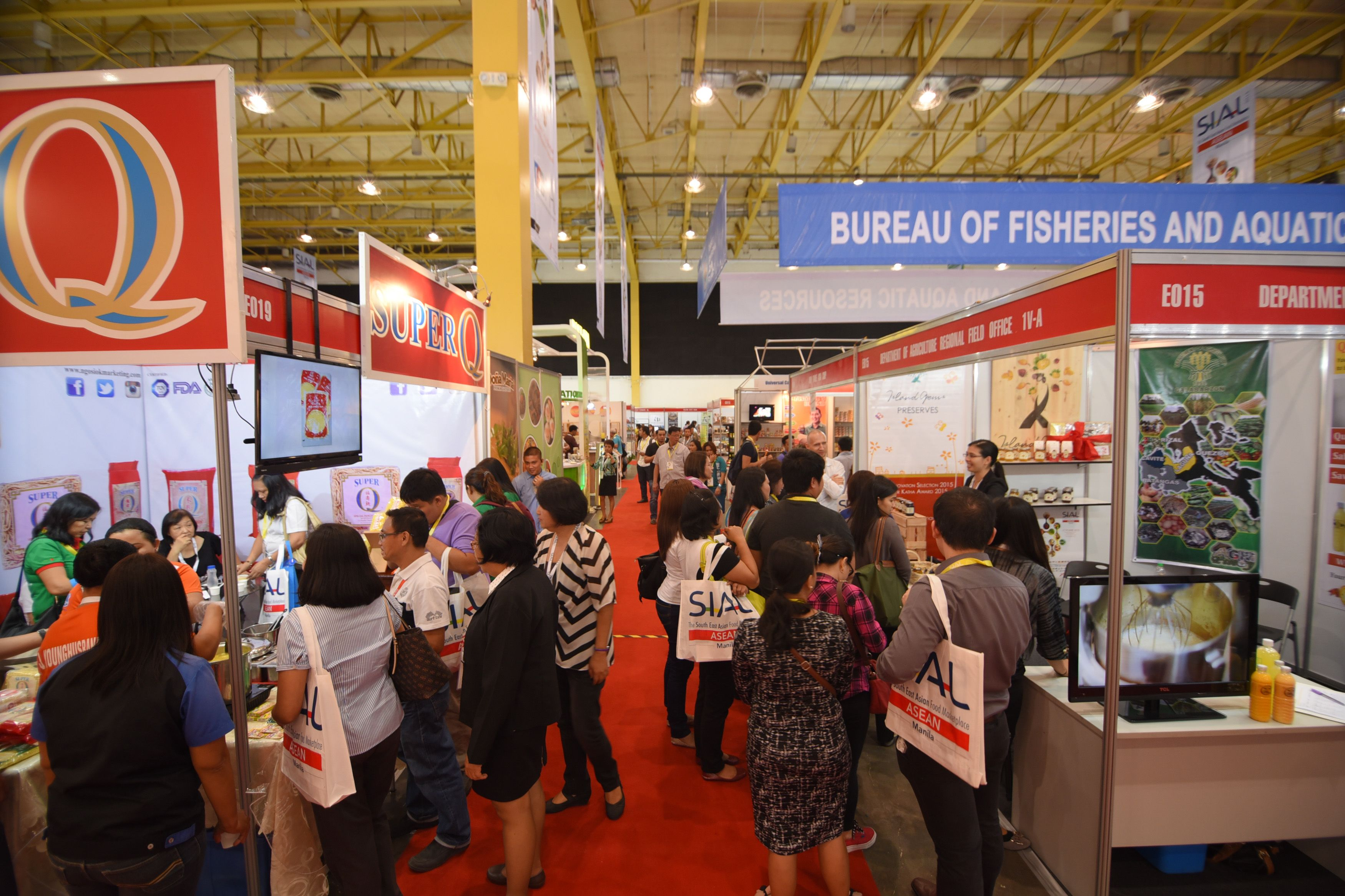 Food exhibitors - SIAL ASEAN Manila 2015