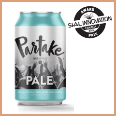Partake pale ale – craft non-alcoholic beer (Partake brewing)
