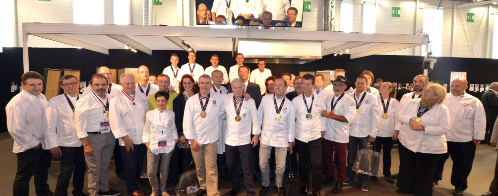 50 chefs at SIAL Paris