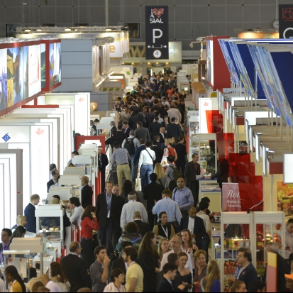 Stands at SIAL Paris
