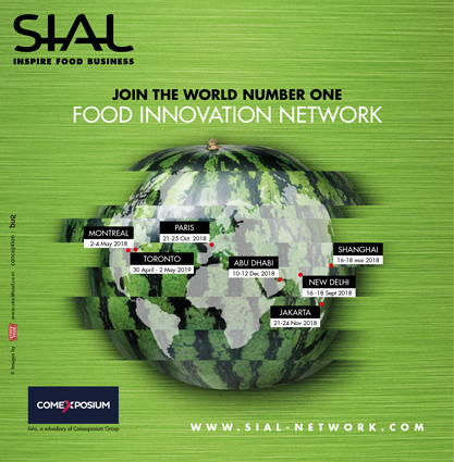 SIAL Join the world number one Food innovation Network