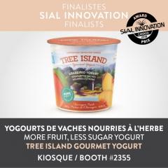 More Fruit, less sugar yogurt - TRESS ISLAND GOURMET YOGURT